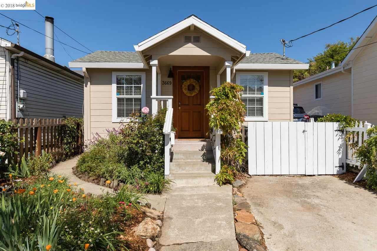 3669 Madrone Avenue OAKLAND, CA 94619