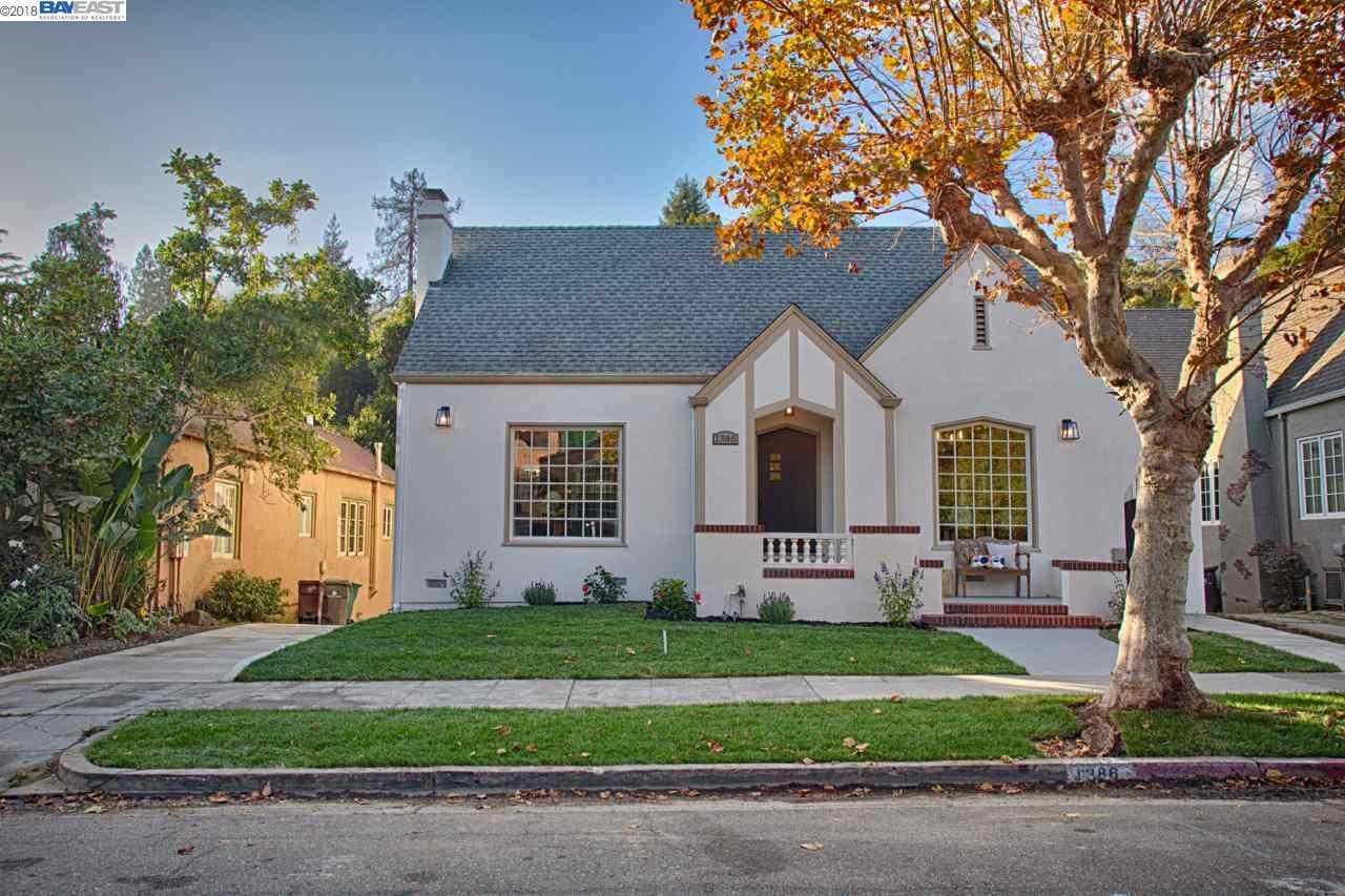 1386 Trestle Glen Rd Oakland, CA 94610