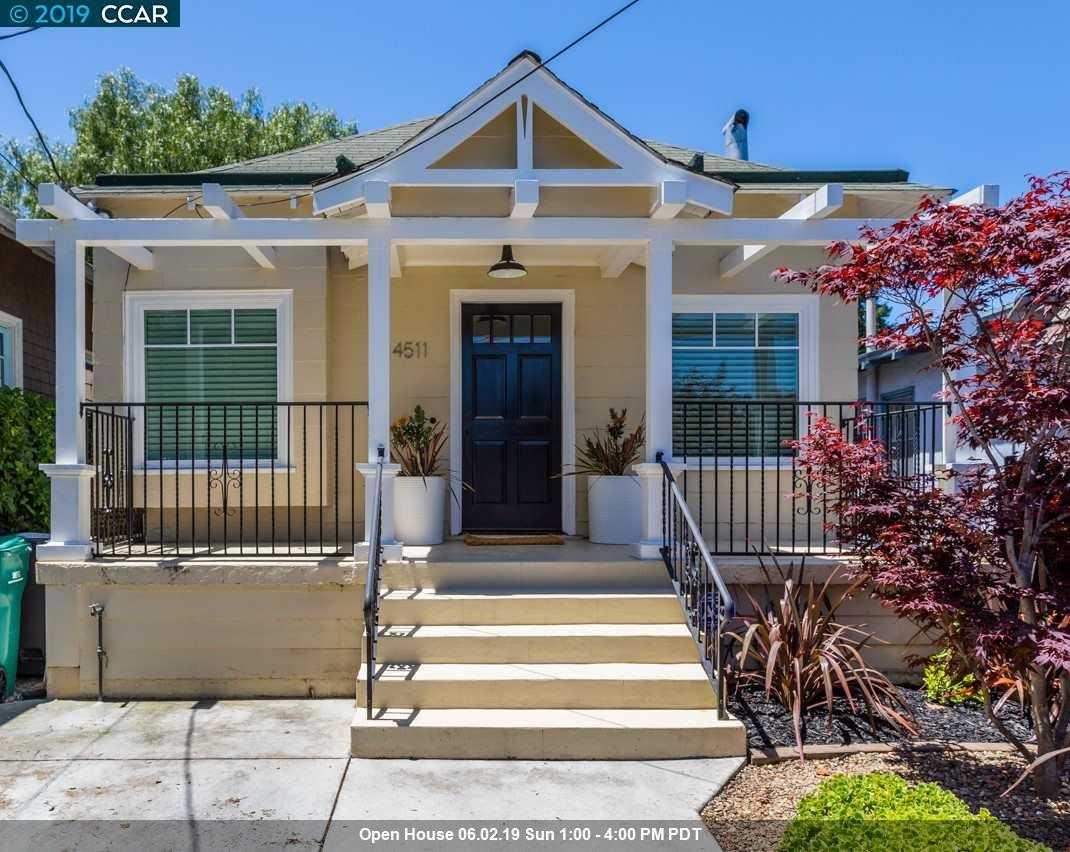 $799,000 - 2Br/1Ba -  for Sale in Longfellow, Oakland