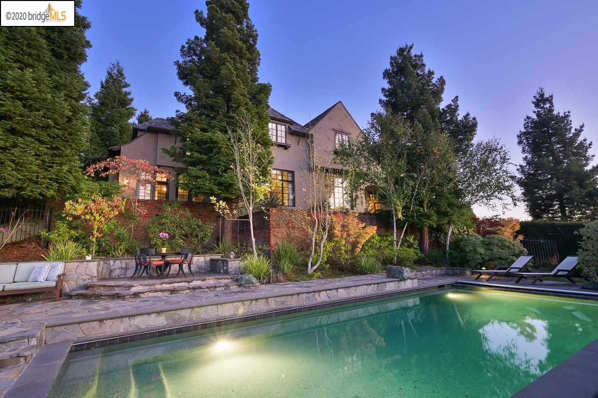 $6,498,000 - 5Br/6Ba -  for Sale in Upper Rockridge, Oakland