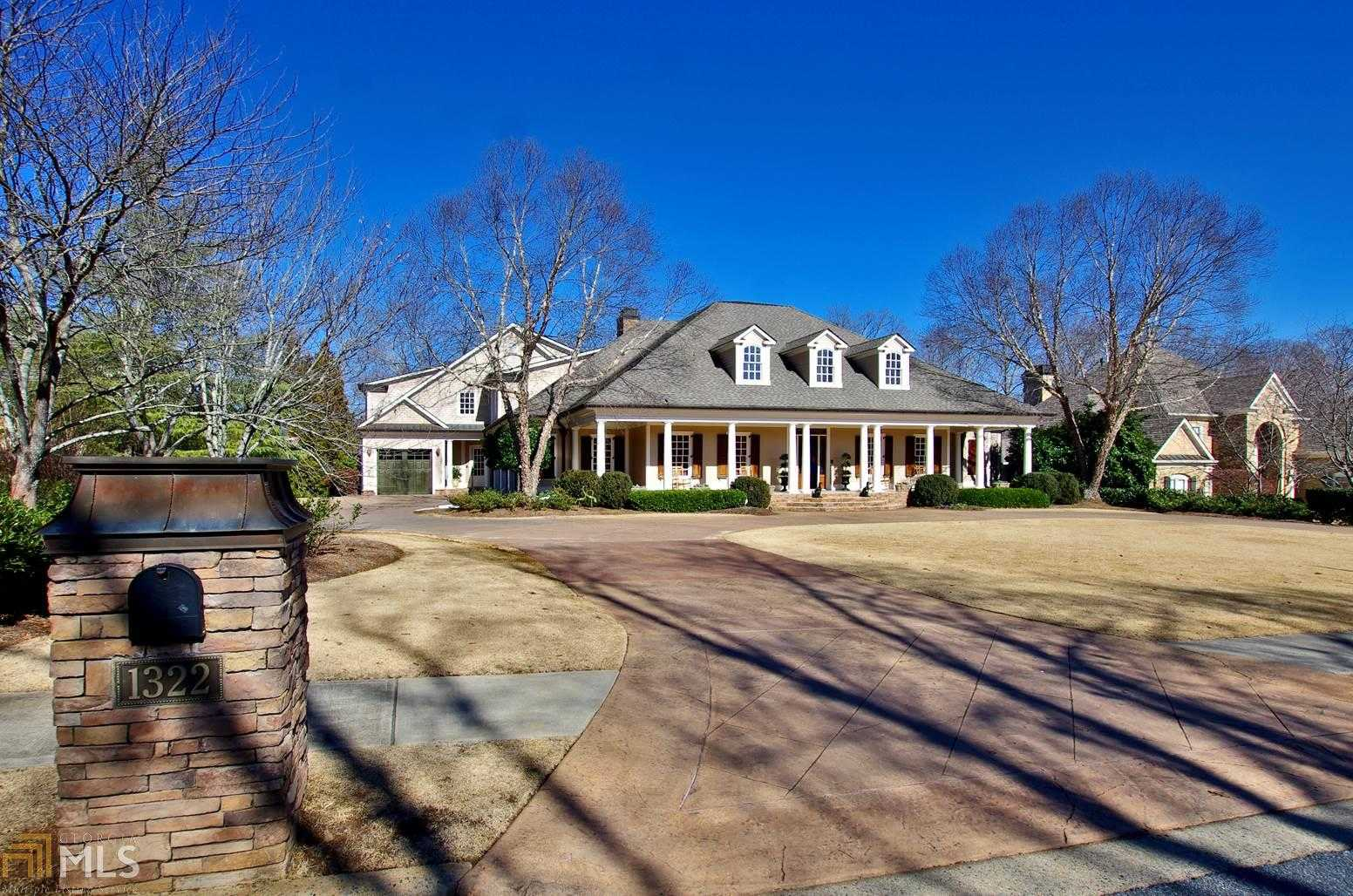 $2,100,000 - 6Br/8Ba -  for Sale in Marietta Country Club, Kennesaw