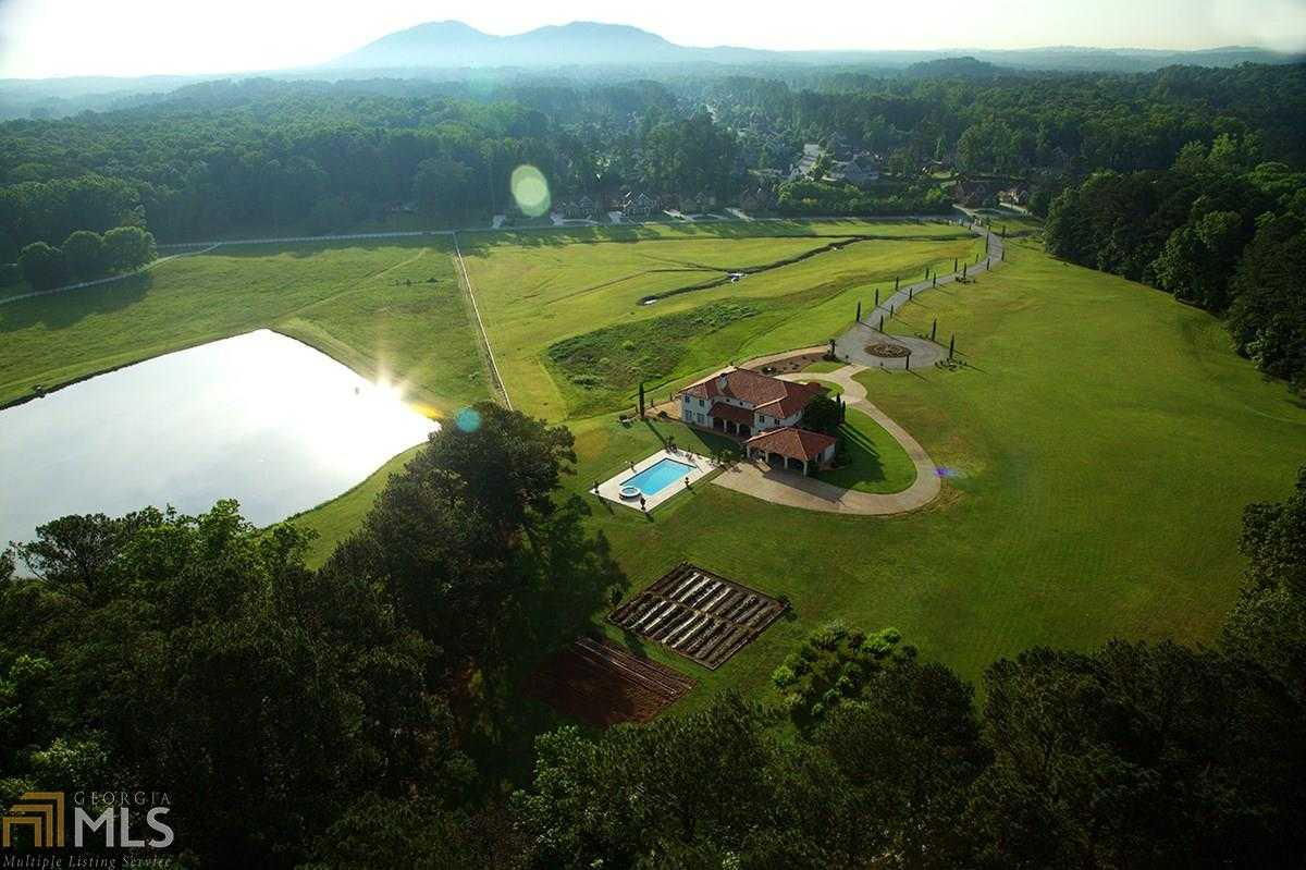 $2,500,000 - 6Br/7Ba -  for Sale in 20.9 Acre Custom Estate Home, Kennesaw