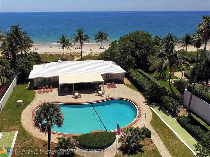 $429,000 - 2Br/3Ba -  for Sale in Palm Club Co-op, Lauderdale By The Sea