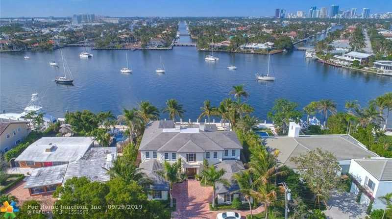 $7,695,000 - 5Br/6Ba -  for Sale in Harbor Beach, Fort Lauderdale