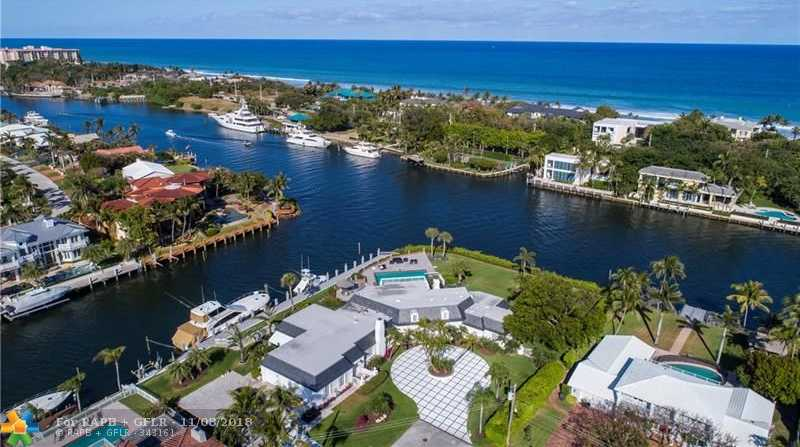$5,495,000 - 4Br/5Ba -  for Sale in Venetian Isles 3rd Sec 47, Lighthouse Point