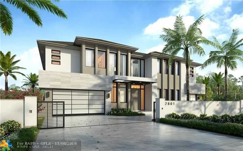 $4,250,000 - 5Br/8Ba -  for Sale in Venetian Isles 1st Sec, Lighthouse Point