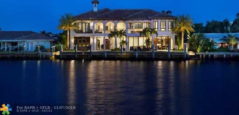 $3,995,000 - 5Br/7Ba -  for Sale in Harbor Village Sec J 51-3, Pompano Beach