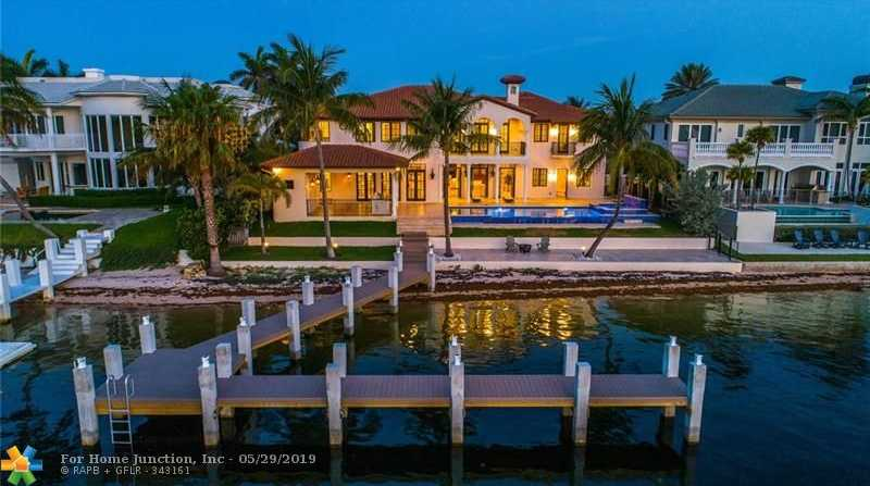 $4,795,000 - 6Br/8Ba -  for Sale in Venetian Isles 1st Sec 43, Lighthouse Point