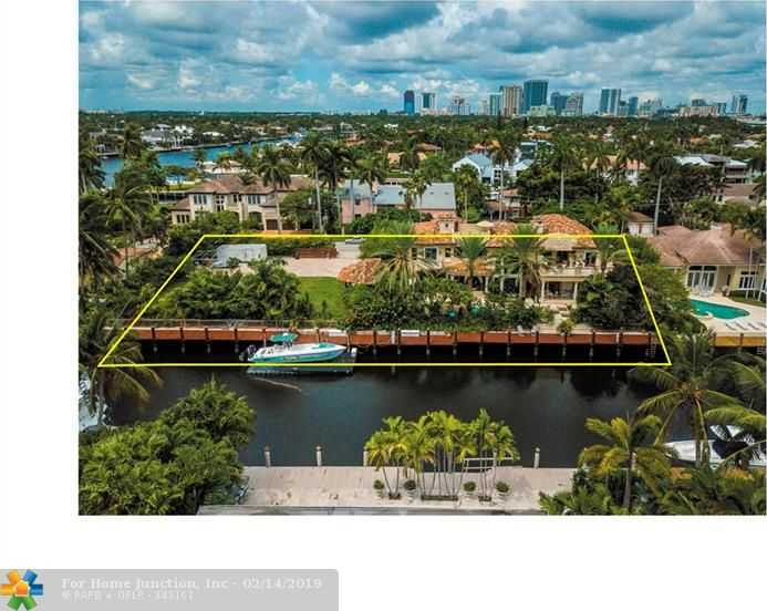 $8,495,000 - 5Br/6Ba -  for Sale in Las Olas Isles, Fort Lauderdale