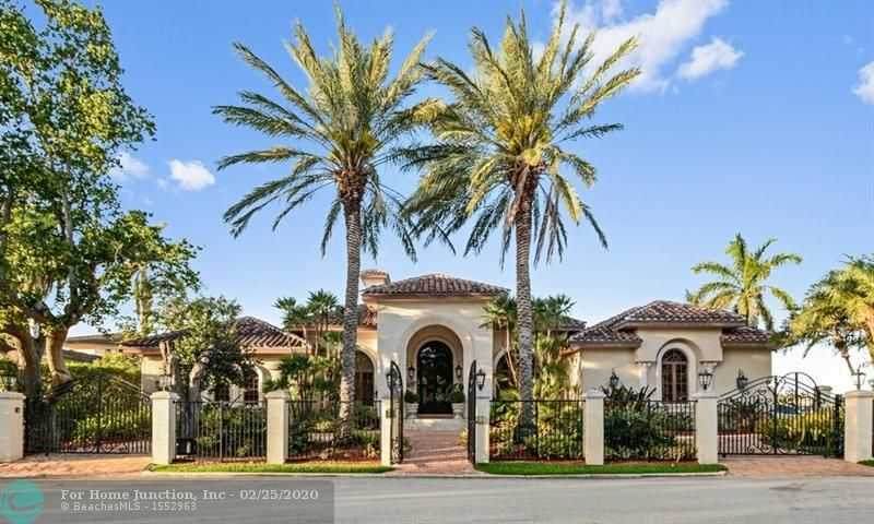 $3,750,000 - 4Br/5Ba -  for Sale in Hollywood Lakes Sec 1-32, Hollywood