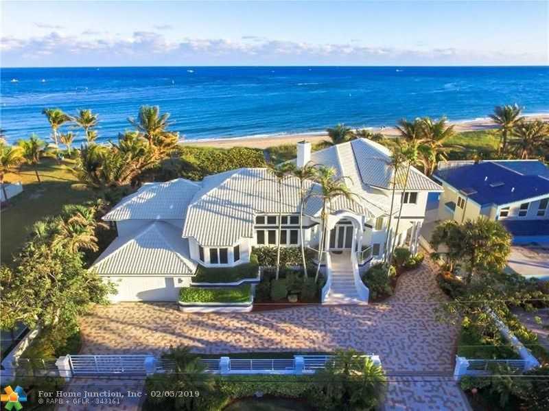 $5,650,000 - 5Br/4Ba -  for Sale in Hillsboro Shores Sec A 21, Pompano Beach