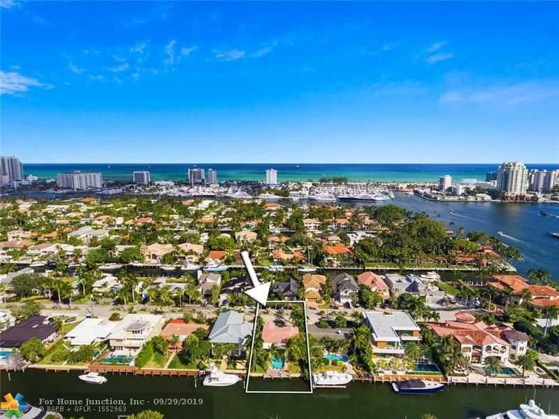 $1,399,999 - 3Br/3Ba -  for Sale in Las Olas Isles, Fort Lauderdale