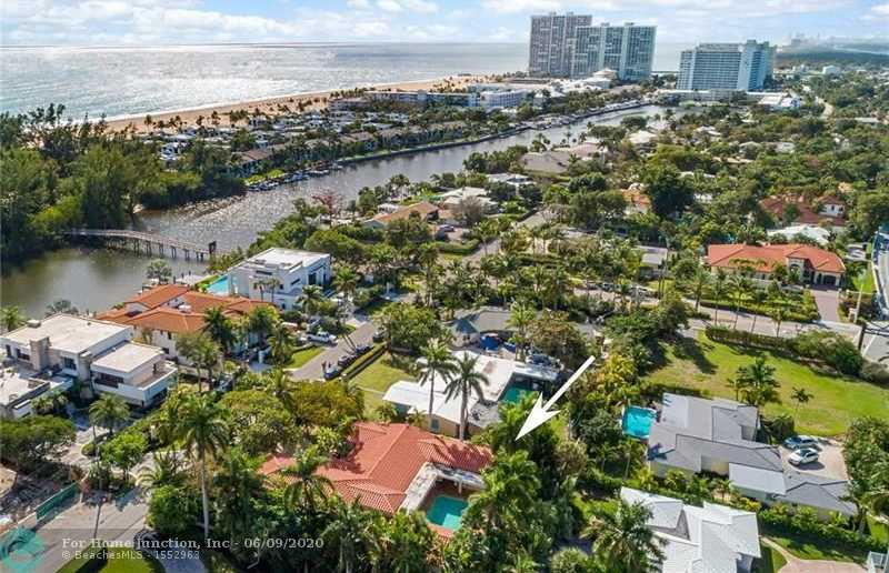 $1,895,000 - 6Br/4Ba -  for Sale in Harbor Beach, Fort Lauderdale