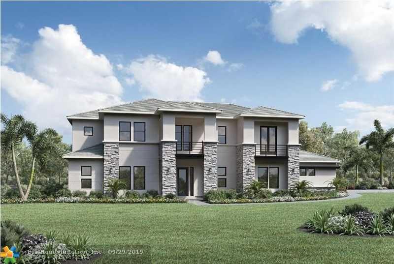 $1,378,995 - 5Br/6Ba -  for Sale in Bella Acre Estates 177-58, Southwest Ranches