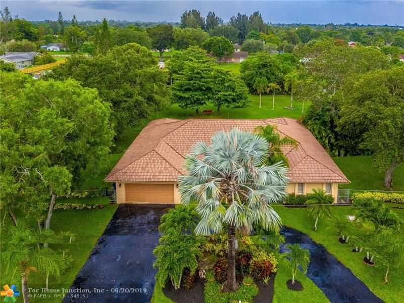 $759,000 - 4Br/3Ba -  for Sale in Green Meadows Sec 2 86-28, Southwest Ranches