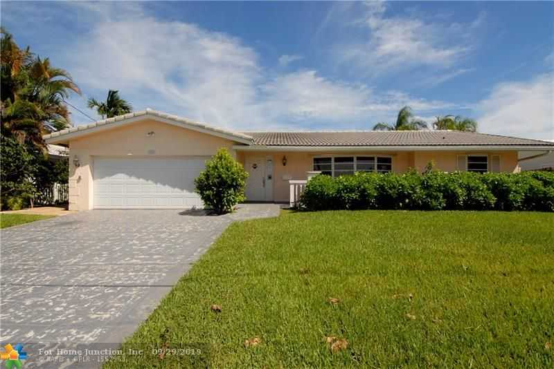$585,000 - 5Br/3Ba -  for Sale in Coral Ridge Isles, Fort Lauderdale