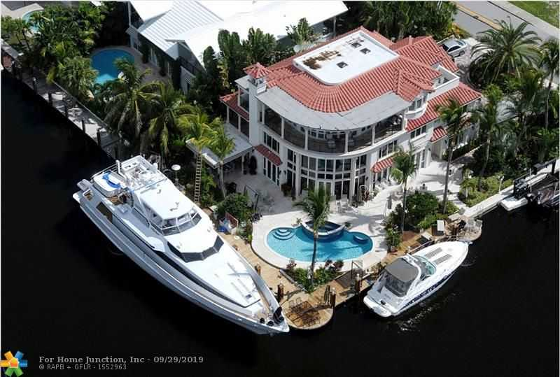 $5,900,000 - 7Br/9Ba -  for Sale in Lauderdale Isles Re-amend, Fort Lauderdale
