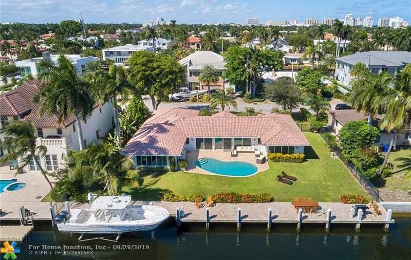 $2,500,000 - 3Br/4Ba -  for Sale in Lauderdale Shores Reamen, Fort Lauderdale