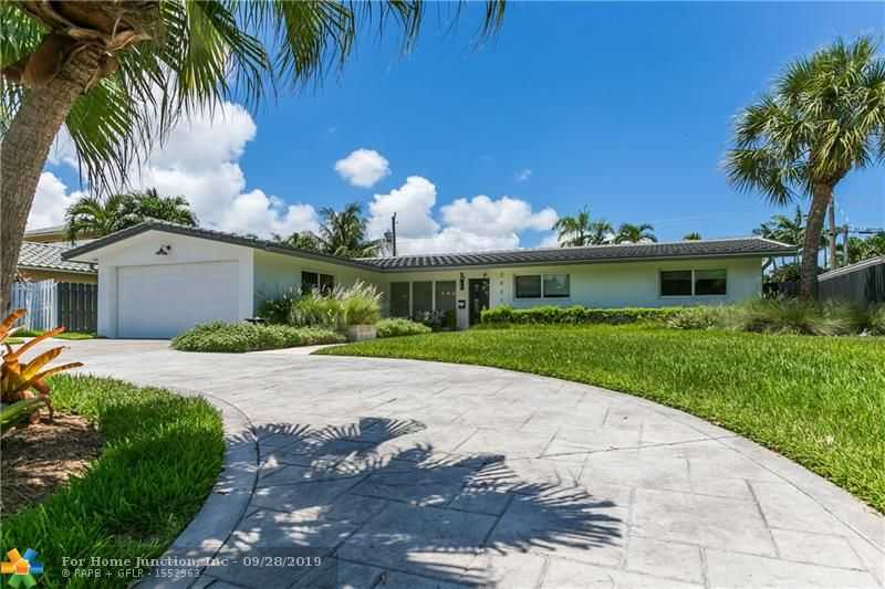 $739,900 - 3Br/3Ba -  for Sale in Coral Ridge Add B 41-47 B, Fort Lauderdale