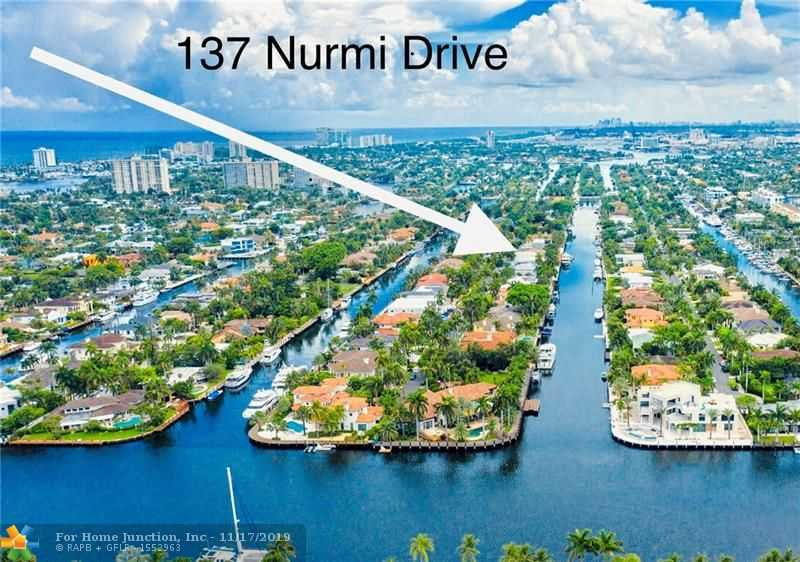 $3,995,000 - 6Br/7Ba -  for Sale in Nurmi Isles Island 2, Fort Lauderdale