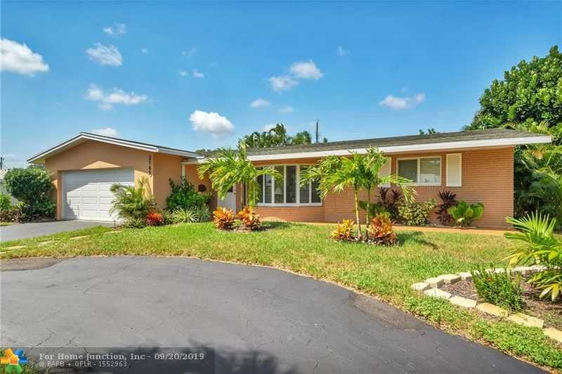 $574,900 - 3Br/2Ba -  for Sale in Coral Ridge Add B 41-47 B, Fort Lauderdale