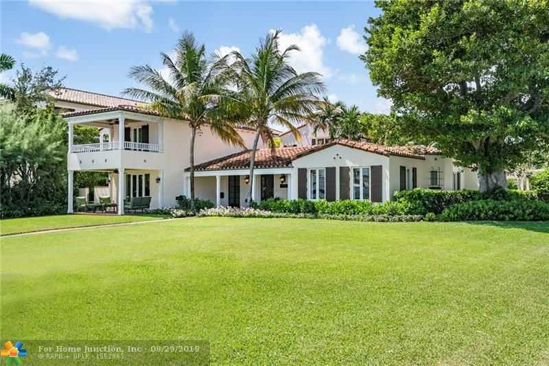 $5,200,000 - 6Br/6Ba -  for Sale in Idlewyld 1-19 B, Fort Lauderdale