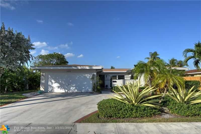 $675,000 - 3Br/2Ba -  for Sale in Coral Ridge Isles 45-47 B, Fort Lauderdale