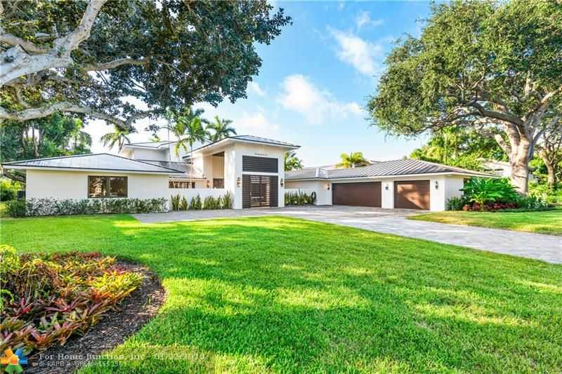 $4,000,000 - 6Br/7Ba -  for Sale in Coral Ridge Country Club, Fort Lauderdale