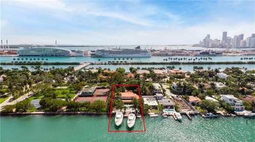 $16,900,000 - 5Br/5Ba -  for Sale in Palm Island, Miami Beach