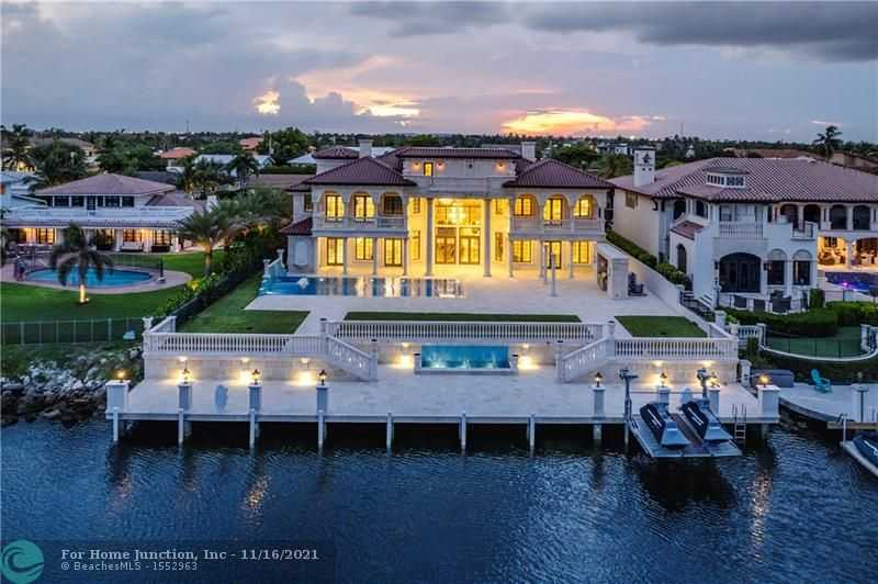 $12,999,000 - 7Br/9Ba -  for Sale in Venetian Isles 3rd Sec 47, Lighthouse Point