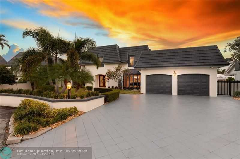 $3,199,000 - 5Br/5Ba -  for Sale in Coral Ridge Country Club, Fort Lauderdale