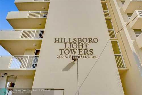 $350,000 - 2Br/2Ba -  for Sale in Hillsboro Light Towers, Pompano Beach