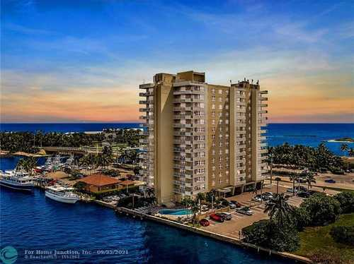 $399,000 - 2Br/2Ba -  for Sale in Hillsboro Light Towers, Pompano Beach