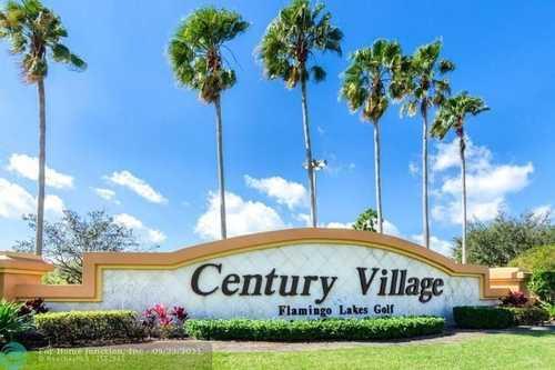 $195,000 - 2Br/2Ba -  for Sale in Century Village, Pembroke Pines