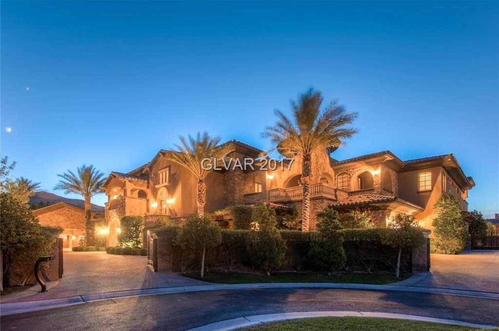 $5,200,000 - 6Br/9Ba -  for Sale in Estates At Southern Highlands-, Las Vegas