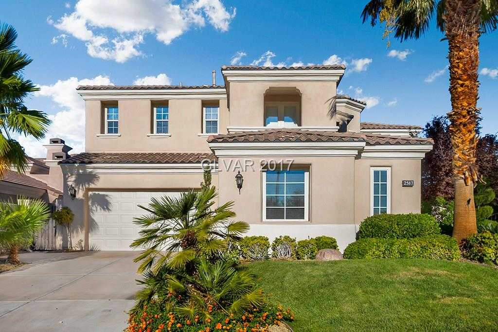 $1,484,535 - 5Br/5Ba -  for Sale in Red Rock Cntry Club At Summerl, Las Vegas