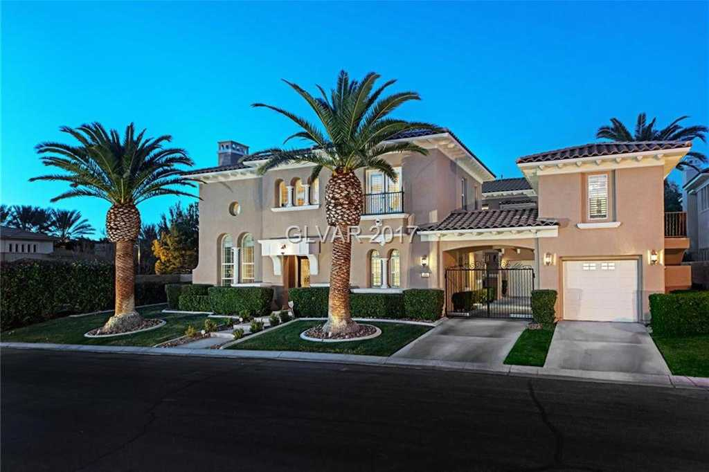 $1,350,000 - 6Br/7Ba -  for Sale in Beleza At Southern Highlands U, Las Vegas