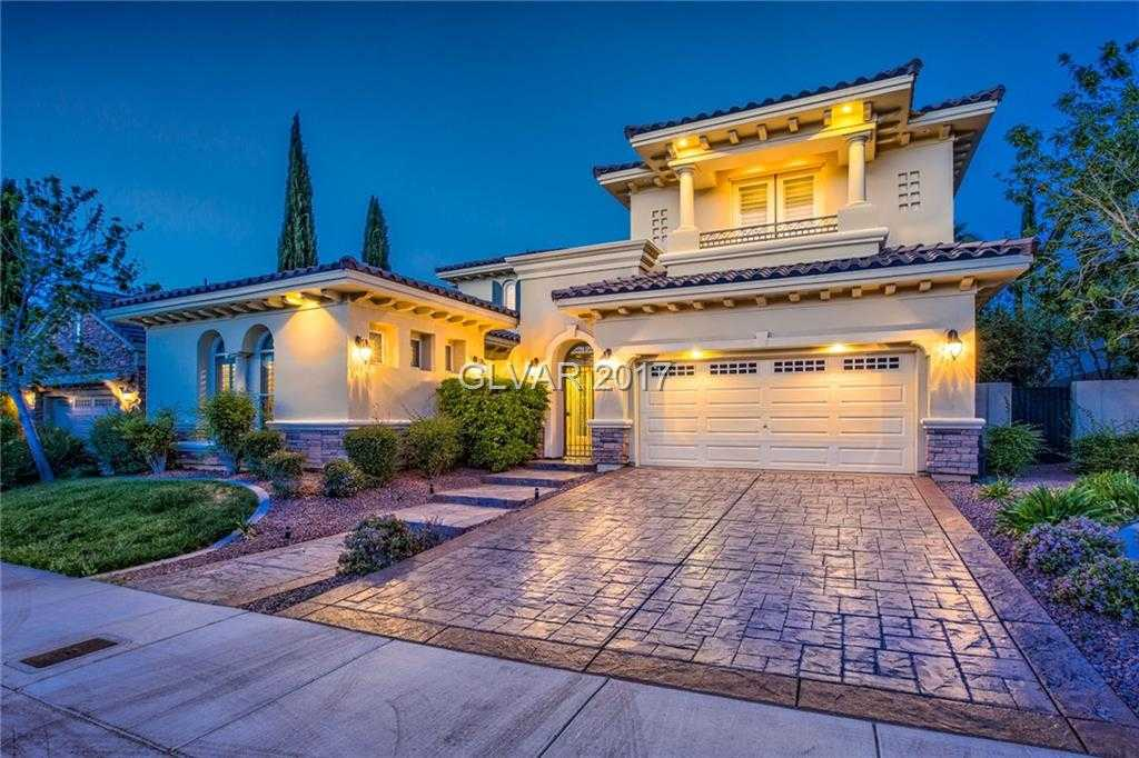 $940,000 - 5Br/5Ba -  for Sale in Red Rock Cntry Club At Summerl, Las Vegas