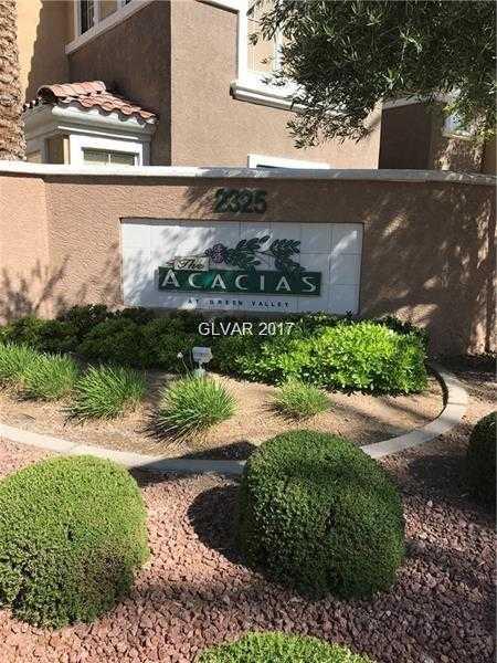 $154,900 - 2Br/2Ba -  for Sale in Altair At Green Valley, Henderson