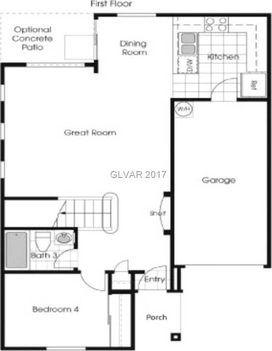 $179,900 - 4Br/3Ba -  for Sale in Wexford Village North-phase 2, Las Vegas