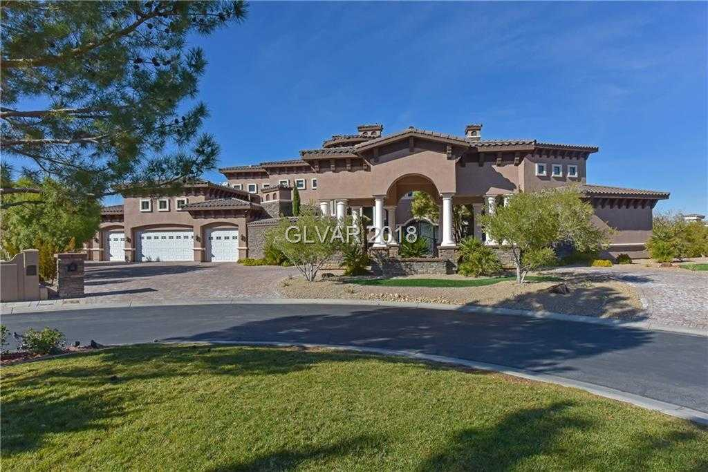 $2,999,900 - 6Br/9Ba -  for Sale in Anthem Cntry Club Parcel 40, Henderson