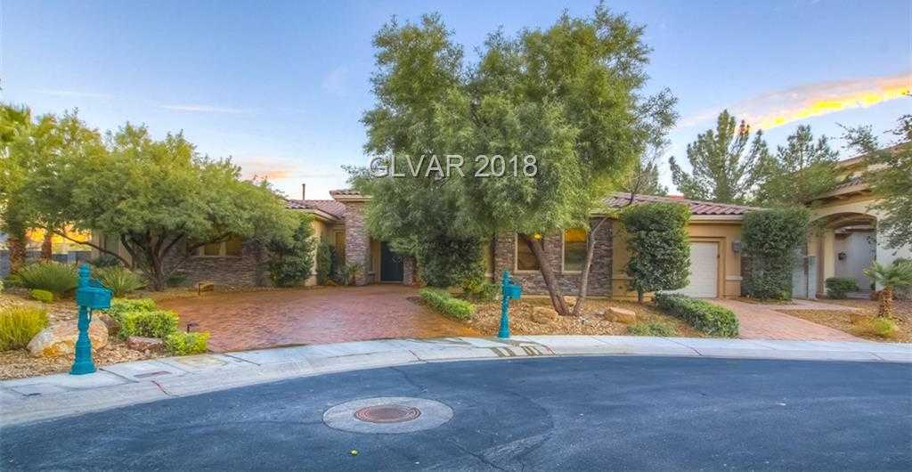 $1,290,000 - 3Br/5Ba -  for Sale in Seven Hills Parcel L Unit 1, Henderson