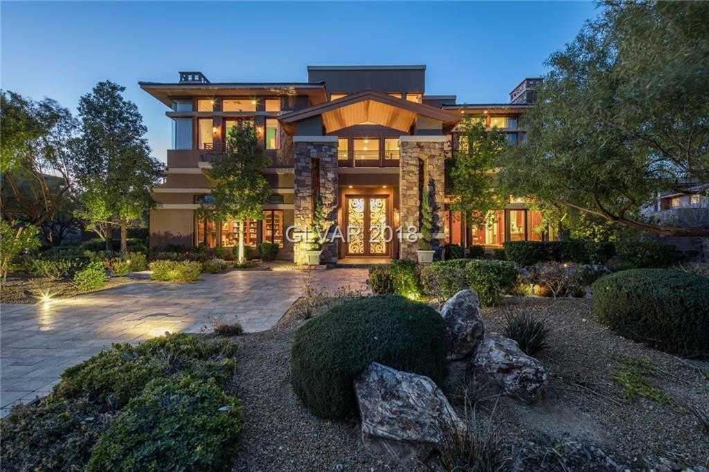 $6,997,500 - 6Br/9Ba -  for Sale in Summerlin Village 18 Phase 1 U, Las Vegas