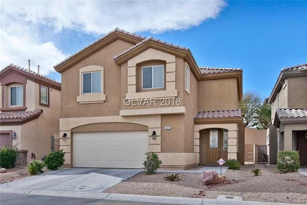 $314,900 - 3Br/3Ba -  for Sale in Parcel 14 At Rhodes Ranch Unit, Las Vegas