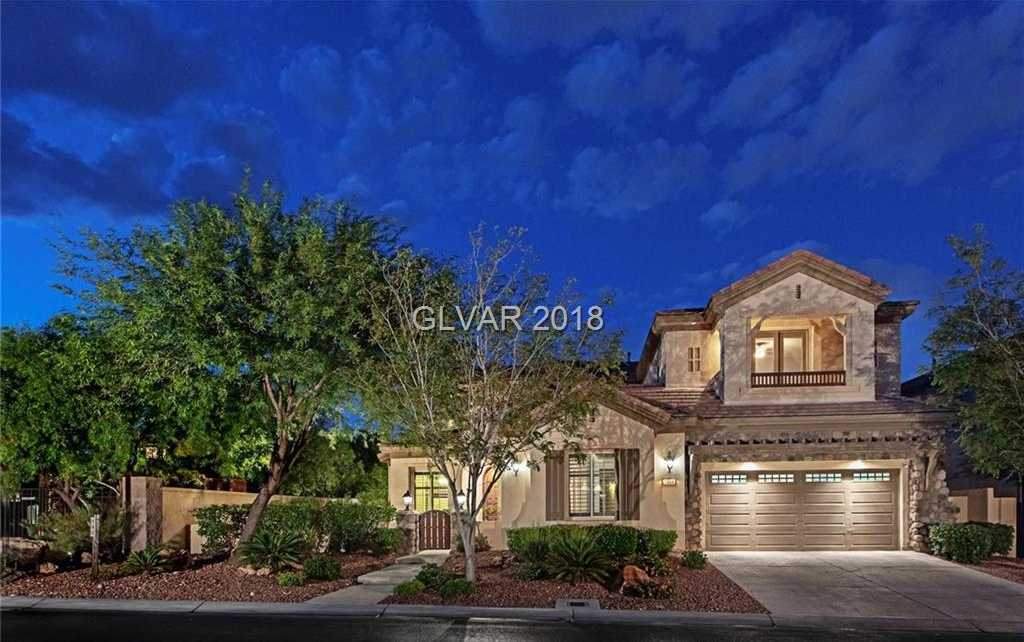 $875,000 - 5Br/4Ba -  for Sale in Red Rock Cntry Club At Summerl, Las Vegas