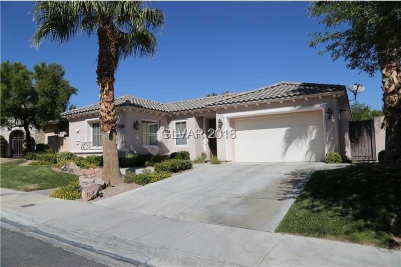 $600,000 - 3Br/4Ba -  for Sale in Red Rock Cntry Club At Summerl, Las Vegas