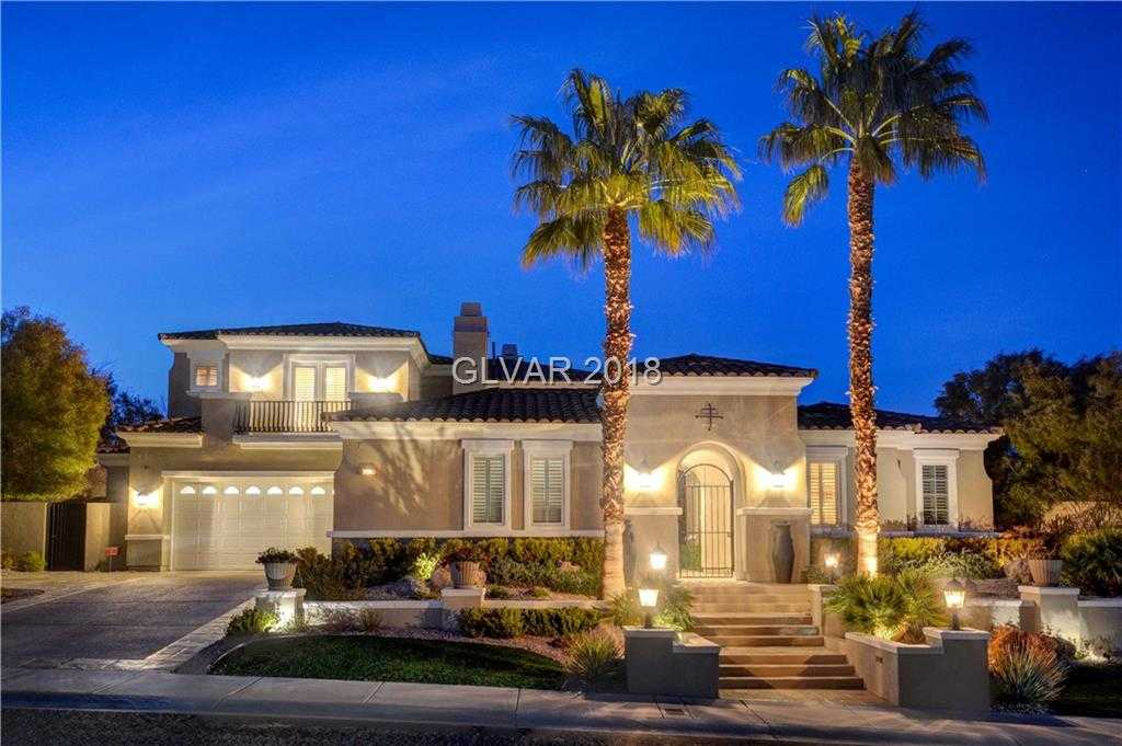 $2,695,000 - 5Br/6Ba -  for Sale in Red Rock Cntry Club At Summerl, Las Vegas