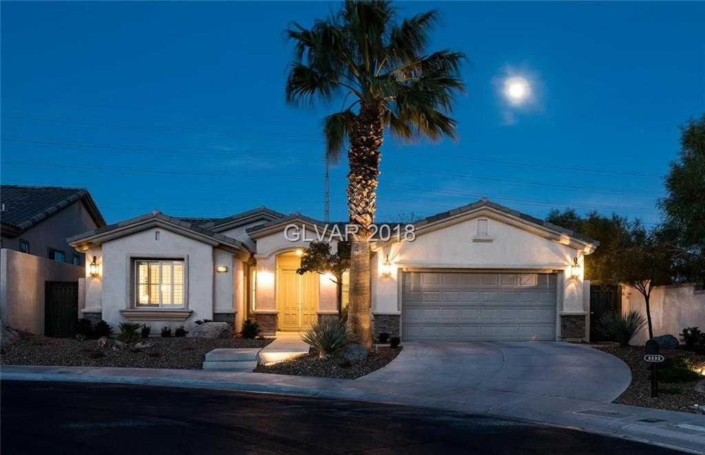 $566,000 - 3Br/2Ba -  for Sale in Red Rock Cntry Club At Summerl, Las Vegas