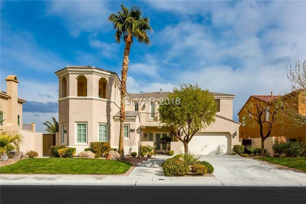 $1,000,000 - 5Br/6Ba -  for Sale in Red Rock Cntry Club At Summerl, Las Vegas