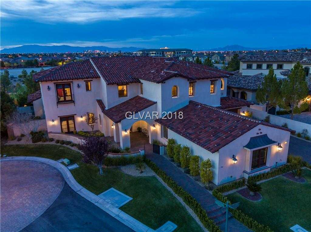 $3,499,999 - 5Br/7Ba -  for Sale in Enclave At Southern Highlands, Las Vegas
